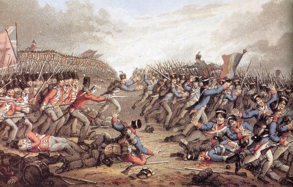 Battlalion-of-Waterloo-by-JH-Clark.jpg