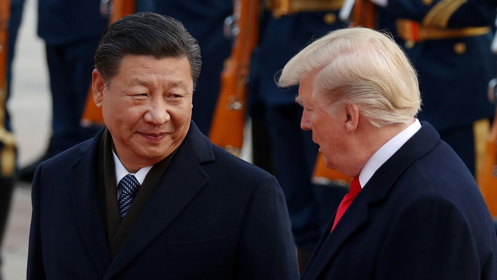 Donald vs Xi Jin