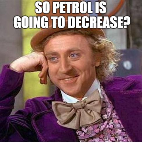 Meme Willy Wonker Petrol