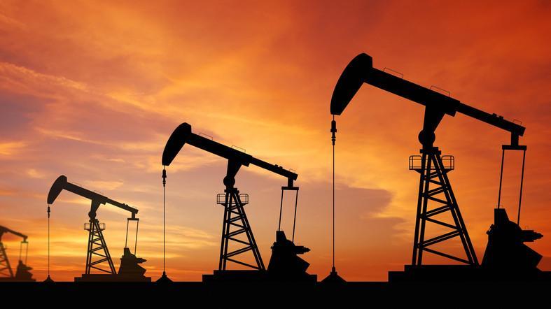 Oil enters